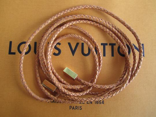 Louis Vuitton Louis Vuitton Belt Woven Leather
