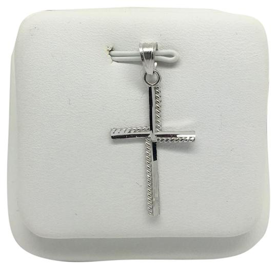 Preload https://img-static.tradesy.com/item/21329415/14k-white-gold-cross-pendant-charm-0-1-540-540.jpg