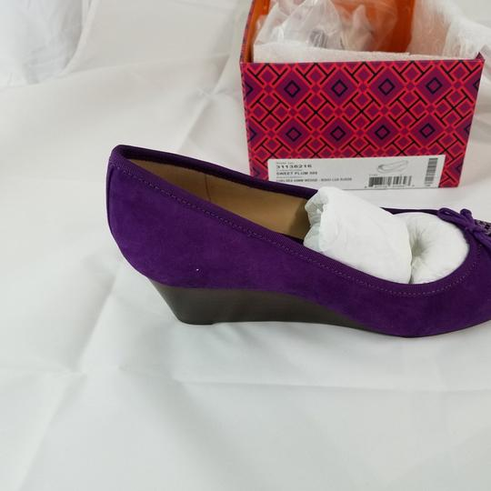 Tory Burch Sweet plum Wedges