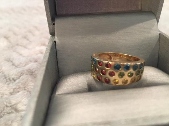affinity 14 Karat Gold Ring with colored stones