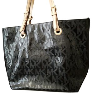 6d31a0ff3c5f Added to Shopping Bag. Michael Kors Tote. Michael Kors Signature Mk Patent  Leather Tote