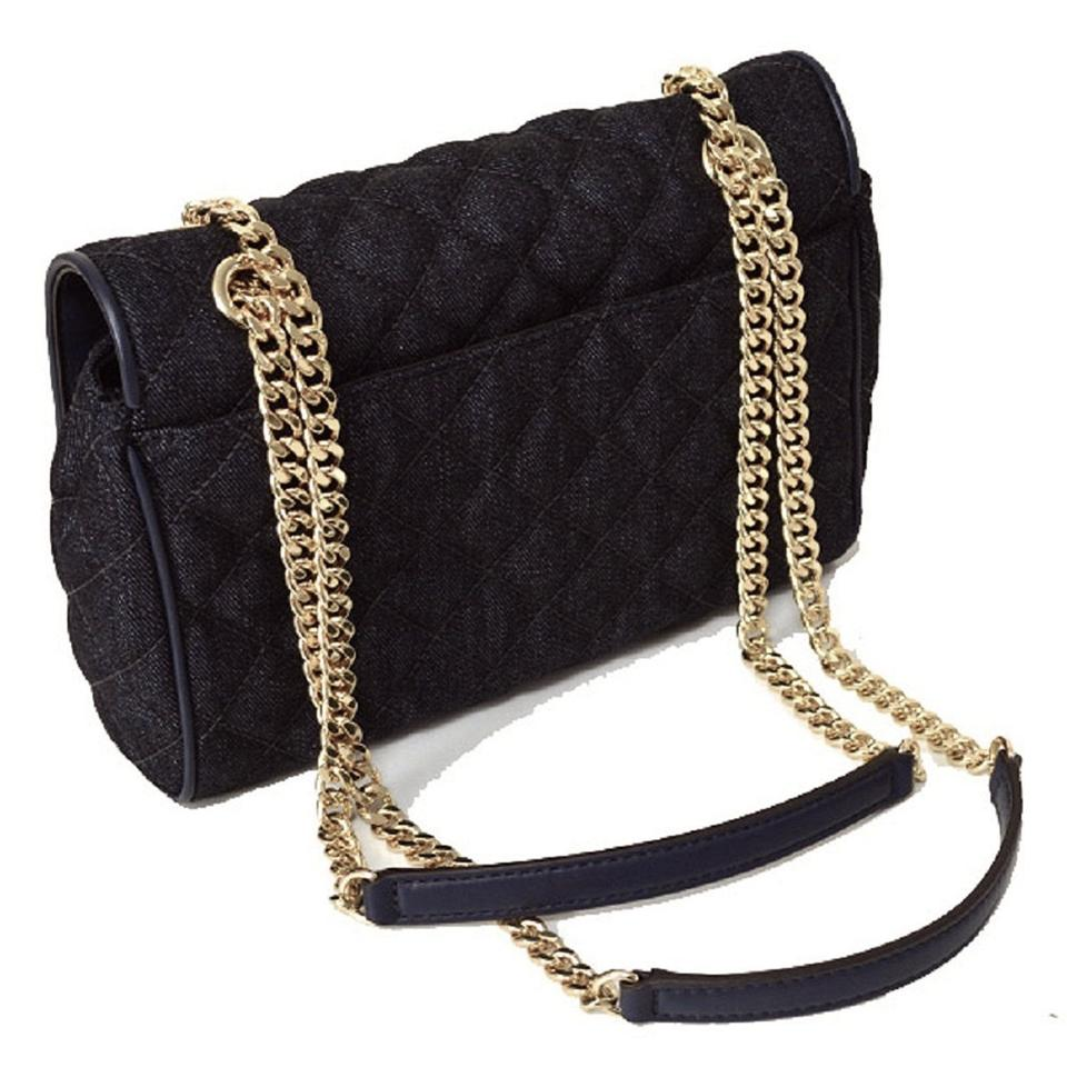 acb660caf580 Michael Kors Vivianne Vs Sloan Editor Md Chain Quilted Dark Denim ...