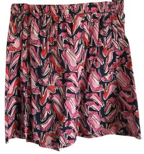 Lilly Pulitzer Skirt navy, pink, red