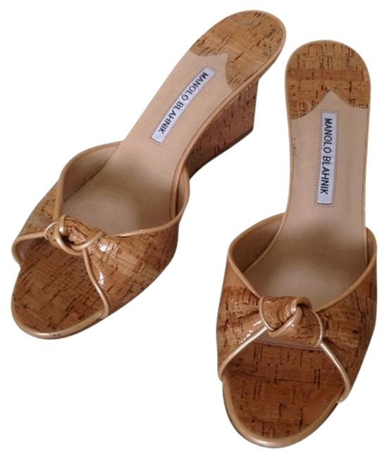 Item - Beige Purchased From Saks 5th Avenue 0452478462345 Wedges Size US 9.5 Regular (M, B)