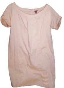 Merona short dress PEACH Summer Cotton on Tradesy