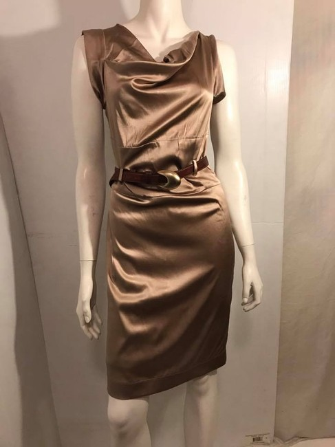 gold Maxi Dress by Collective Clothing