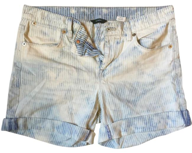 Preload https://img-static.tradesy.com/item/21329935/jcrew-blue-and-white-bleached-railroad-stripe-shorts-size-4-s-27-0-1-650-650.jpg