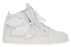 Giuseppe Zanotti Sneakers Leather Made In Italy White Athletic
