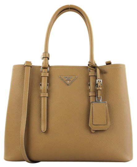 Preload https://item5.tradesy.com/images/prada-double-1620-with-code-treat100-convertible-cognac-leather-tote-21329969-0-5.jpg?width=440&height=440