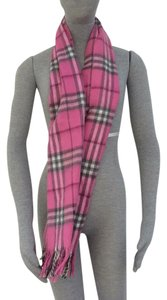 Burberry Burberry pink scarf