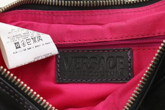 Versace Leather Couture Baguette