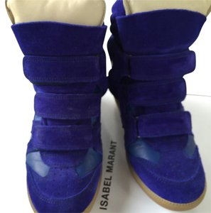 Isabel Marant Cobalt Blue Wedges