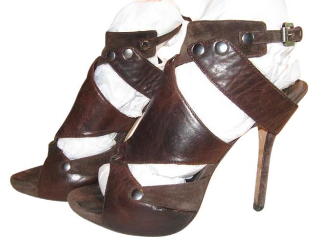 Dior Brown Favorite Gladiator Sex and The City Platforms Carrie's Sandals Size US 6 Regular (M, B) Dior Brown Favorite Gladiator Sex and The City Platforms Carrie's Sandals Size US 6 Regular (M, B) Image 1