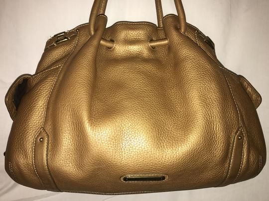 Cole Haan Leather Pebbled Shoulder Bag