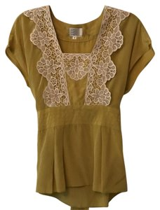 MILLY Top gold