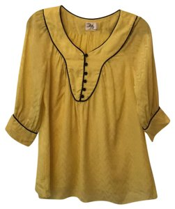 MILLY Top yellow