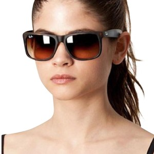66b48c1ac78d11 ... discount ray ban ray ban justin sunglasses in tortoise brown 9d91c 3976d
