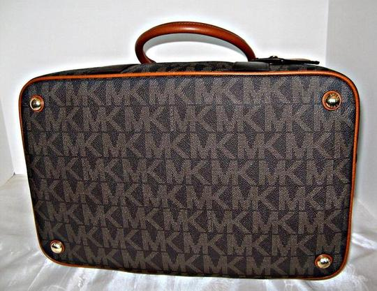 Michael Kors Mk Set Mk Wallets Brown Travel Bag