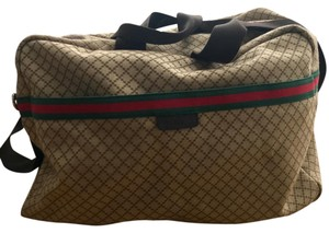 Gucci beige brown Travel Bag