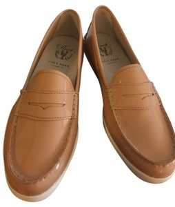 Cole Haan Leather maple sugar Flats