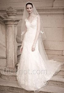 Oleg Cassini David's Bridal Oleg Cassini Style Cwg517 Wedding Dress