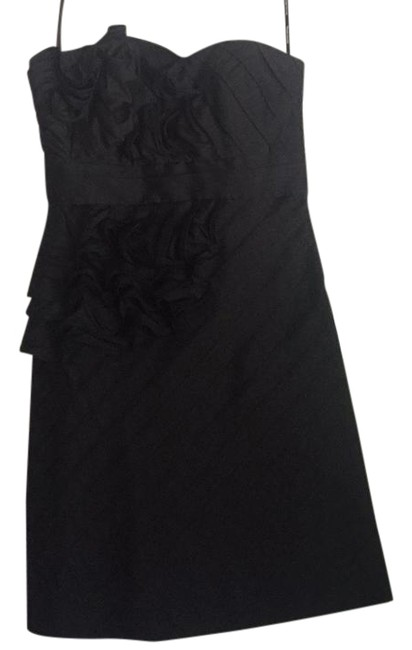 Preload https://img-static.tradesy.com/item/21330517/phoebe-couture-floral-chiffon-strapless-short-cocktail-dress-size-0-xs-0-1-650-650.jpg