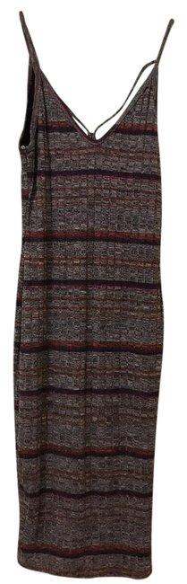 Preload https://img-static.tradesy.com/item/21330525/nordstrom-multicolor-striped-mid-length-workoffice-dress-size-2-xs-0-1-650-650.jpg