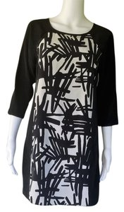 Tibi Mini 3/4 Sleeves Silk Cut Outs Dress