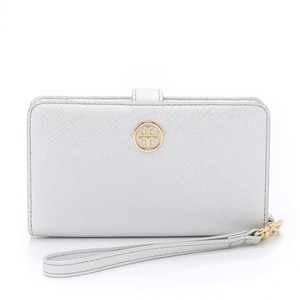 Tory Burch Wristlet in Silver