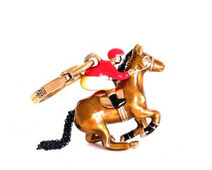 Juicy Couture Juicy Couture Jockey and Horse Charm Rare Retired Limited Edition