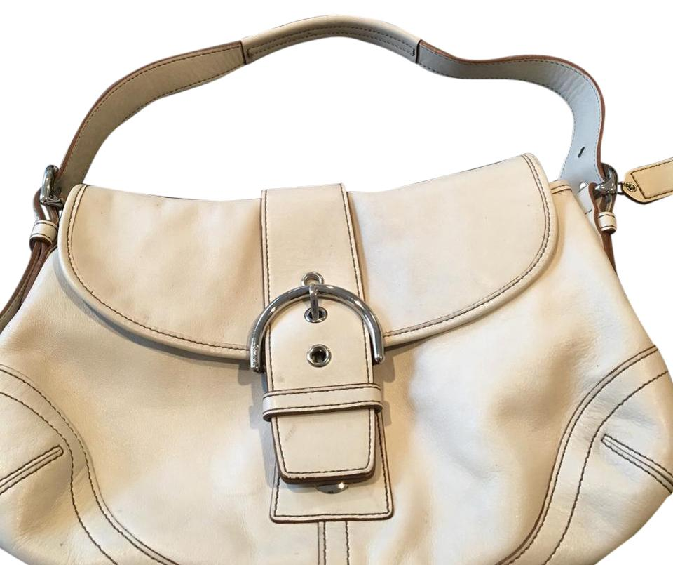 b59ef2045a Coach Off White Leather Hobo Bag - Tradesy