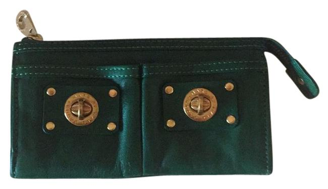 Marc by Marc Jacobs Green Leather Wallet Marc by Marc Jacobs Green Leather Wallet Image 1