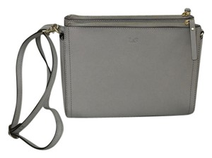 Lo & Sons Saffiano Convertible Clutch Travel Cross Body Bag