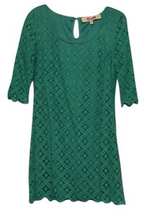 Emmelee short dress green on Tradesy