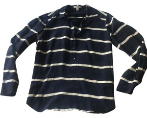 J.Crew Top navy stripe