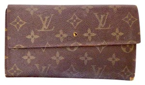 Louis Vuitton Monogram long wallet purse