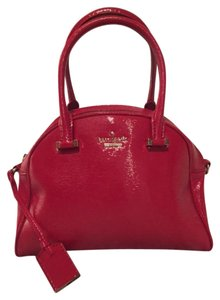 Kate Spade Satchel in cherry red