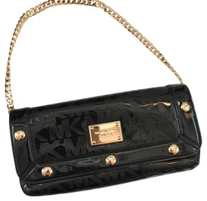 Michael Kors Gold Clutch Shoulder Bag