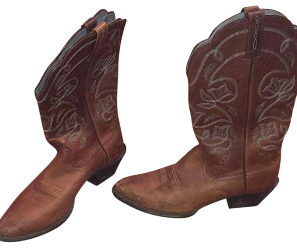 Women's Ariat Brown Boots/Booties Airat Boots/Booties Brown Flagship store 5d04b1