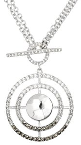 Judith Jack cooling effects Swarovski Crystal accented & marcasite pendant