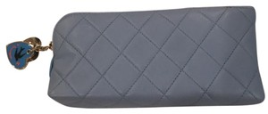 Chanel authentic chanel lambskin cosmetic case