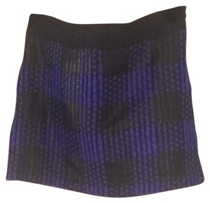 Milly of New York by Michelle Smith Collection Skirt Purple, Black