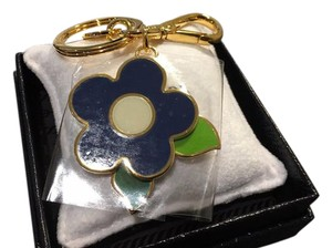Prada Flower Handbag Bag Charm Key Holder