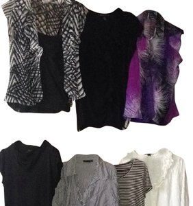 INC International Concepts Top Black, White, Purple, Grey, Navy, Tan