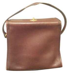 Coach Handbag Leather Vintage Satchel in Brown