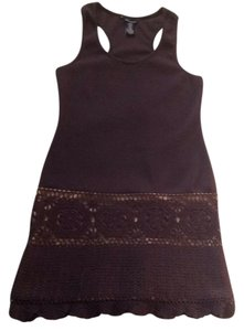 Moda International short dress chocolate brown on Tradesy