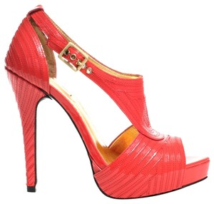Report Signature Heels Sexy Summer Coral Pumps