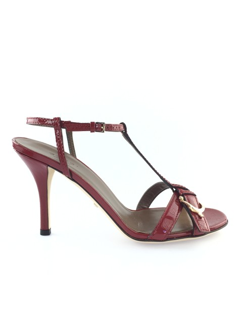 Item - Rose Bed Nice Strappy Patent Sandals Size EU 37.5 (Approx. US 7.5) Regular (M, B)