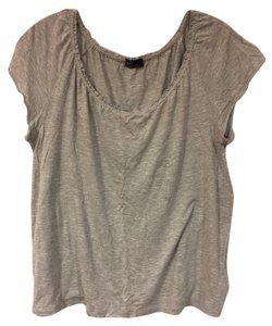 Gap Comfortable Casual Simple Basic T Shirt grey