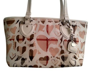 Burberry Mothers Day Limited Edition Sold Out Tote in White/Multi